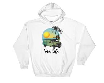 Achilles8 Van Life Hooded Sweatshirt