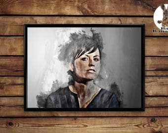 Dolores O'Riordan poster wall art hme decor print
