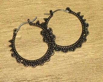 Antique Air Earrings