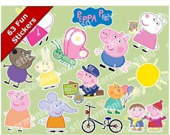 Peppa Pig Fun Stickers