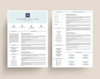 3 Page Resume Template | MS Word DIY Printable Resume | Resume for MS Word | Modern Resume | Instant Download Resume | Creative Cv Template