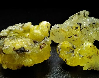 209.65 CT Unheated & Natural Yellow Brucite Rough Stone Lot