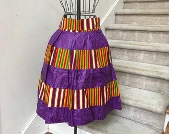 Mayeni Ankara Skirt