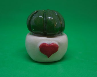mini cactus ceramic wedding favor