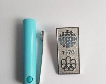1976 radio canada Olympics enamel pin
