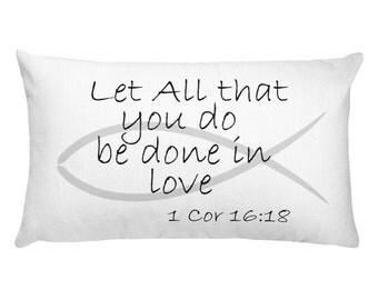 1 Corinthians 16:18 Pillow!