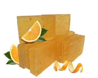 Handmade Orange Zest Bar Soap