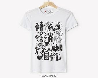 Bang Bang Nancy Sinatra Pictogram T-shirt