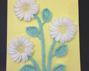 Crochet Birthday Card