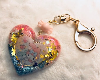 My Melody Heart Charm