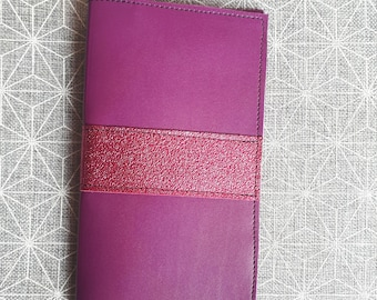 Checkbook leather craft