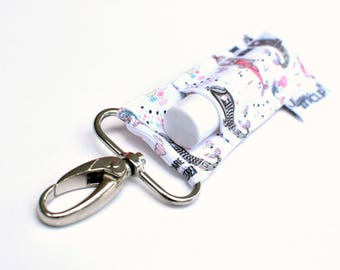 """LippyClip® Lip Balm Holder for Chapstick, Burt's Bees, etc. 