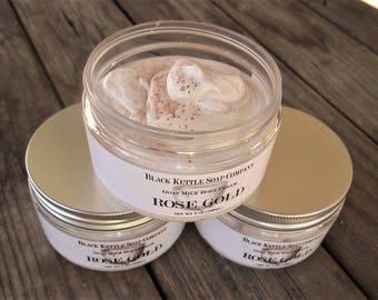 ROSE GOLD Goat Milk Body Cream