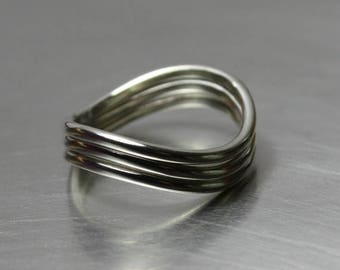 ON SALE TODAY Stacking Rings, Set of 3, Silver