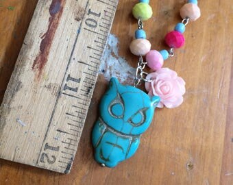 Summer necklace gypsy style cute n country