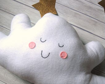 Happy Cloud Pillow