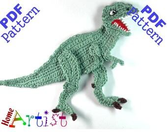 Tyrannosaurus rex Dino crochet pattern