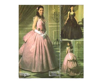 Simplicity 4479 Victorian Phantom of the Opera Christine Costume Sewing Pattern Size 14 - 16 - 18 - 20 Bust 36 - 38 - 40 - 42 UNCUT