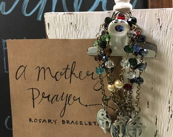 A Mother's Prayer Auto Rosary