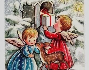 Angel Mail Cross Stitch Pattern PDF