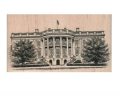 Rubber stamp Washington   DC  The White House    5881 vacation stamps vacation USA united states