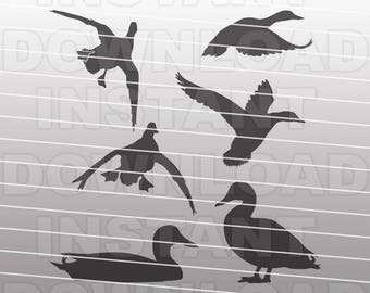 SVG Bundle,Duck SVG File,Mallard SVG File,Duck Hunting svg File-Vector Clip Art Cut File-Commercial/Personal Use for Cricut,Cameo,Silhouette