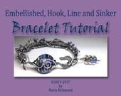 Embellished (or Not) Hook, Line and Sinker Bracelet