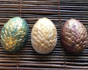 Dragon Egg Soap, Serpent Egg, Handmade Soap, Bar Soap, Dragons Egg, Reptile Egg, Vegan Dragon, Dragon Decor, Ready to ship, Baby Dragon
