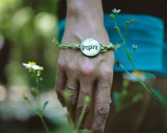 Inspire adjustable bracelet