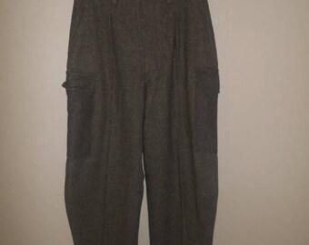 SALE Military Thick Wool Pants, Vintage wool pants