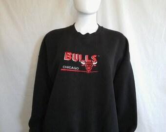 Closing Shop 40%off SALE Chicago BULLS NBA Sweatshirt, Size Xxl  Bulls Sweatshirt