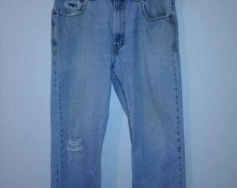 Closing Shop 40%off SALE 90s Levi's 505  Vintage Jeans    90's  zip festival Denim Waist W 34