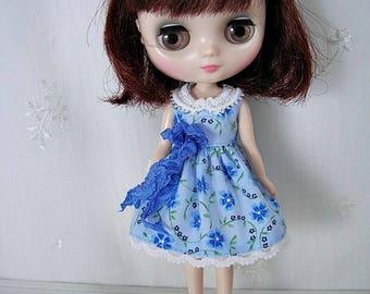 Middie Blythe Dress, Blue