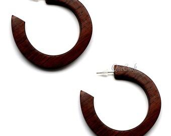 Rosewood Earrings - Q12436