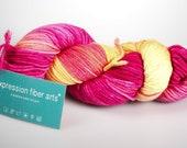 Luxury knitting yarn - Expression Fiber Arts - luxury yarn - Dewy dk - free shipping