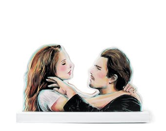 Before Sunrise cut out wood Standee