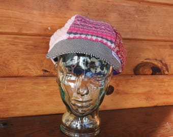 Sweater Newsboy Cap