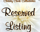 Reserved for LydiaHouse