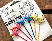 Vintage Bobby Pins - Vintage Hairpins, Vintage Beauty Supplies, Vintage Hair Accessories, Little Linda, Children, Deadstock, Old Stock, NOS