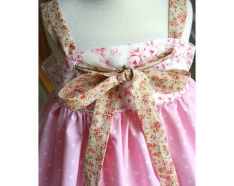 SALE Knot Dress Pattern sizes newborn through 12 girls PDF sewing pattern