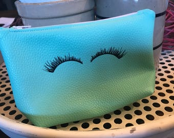 Eyelash mini Faux Leather Bag