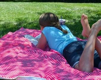 Picnic Blanket, Beach Blanket, Stadium Blanket, Summer Outdoors