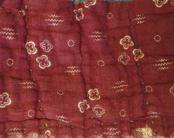 Antique Quilt Strips | Old Quilt Strips | Vintage Quilt Strips | Cutter Quilt Scrap | Old Quilt Scrap For DIY | Primitve Quilt Pieces