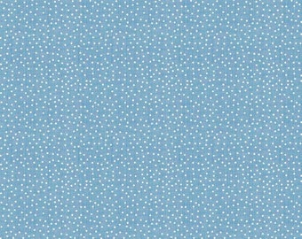 ON SALE Emily Hayes for Penny Rose Something Blue Texture Blue