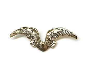 Albatross Pin | Brass Bird Pin | Award | Gifts for Bookworms | Nautical Jewelry