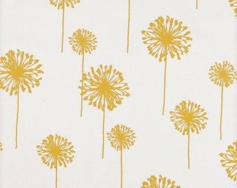 """ON SALE PLACEMATS Yellow dandelions on white and yellow dandelions flower floral 13x17"""""""