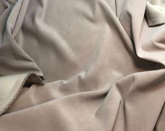 Beige MOLESKIN Fabric 1/3 Yard