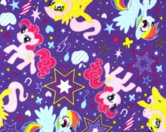 My Little Pony Fleece No Sew Blanket