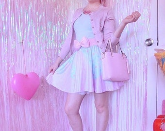 Melty Sweets Skirt Pastel Skirt, Fairy Kei Skirt, Kawaii Skirt,