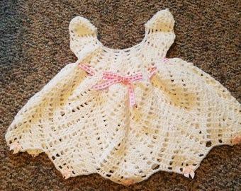 Cute Crochet Baby Dress